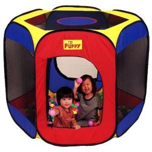 遊具 室内遊具 677 わくわくハウス EVAボール150個付 パピー  テント 子ども  誕生日 おもちゃ キッズ プレゼント おもちゃ テントハウス 子供 ママ 梅雨 雨|716baby