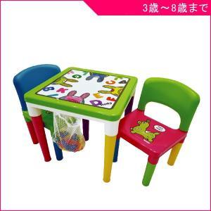 デスク チェア  730 ロディ テーブル&チェアーセット ブロック付き  Rody パピー こども キッズ 子供 部屋 おもちゃ ブロック|716baby