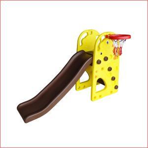 遊具 NEWきりんスライダー パピー  子ども 子供 誕生日 おもちゃ キッズ スペース プレゼント おもちゃ ジャングルジム 滑り台 バスケット 子供 クリスマス|716baby