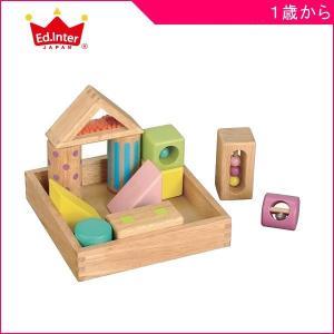 積木 音いっぱいつみき エドインター おもちゃ 木製玩具 木のおもちゃ ギフト もじあそび 積み木 ...