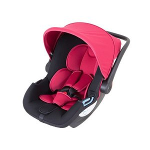 チャイルドシート スマートキャリー ISO FIXベースセット レッド RD 日本育児  新生児 ベビー 出産 マタニティ 赤ちゃん 乳児 ベビーシート 一部地域 送料無料|716baby
