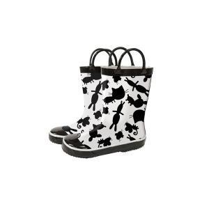 レインブーツ rain boots Animal Silhouettes G55477 【Sサイズ 14cm】 ルミカ lumica マメールマディ 雨具 雑貨 長靴 くつ|716baby