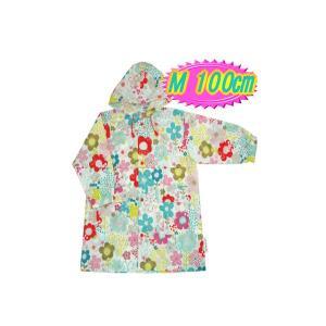 【メーカー取寄商品】 レインコート raincoat ブルーミングフラワー G55467 【Mサイズ 100cm】 ルミカ lumica Ma mere m'a dit マメールマディ 雨具 雑貨|716baby