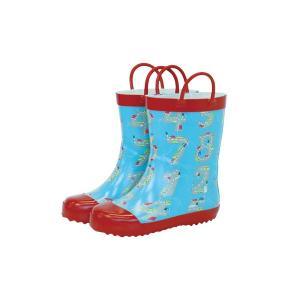 レインブーツ rain boots Numbers G55029 【Mサイズ 16cm】 ルミカ lumica Ma mere m'a dit マメールマディ 雨具 雑貨 長靴 くつ|716baby