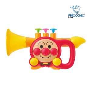 楽器玩具 アンパンマン うちの子天才 トランペット おもちゃ キッズ 子供 ミュージック 楽器 音楽 誕生日 プレゼント 音あそび kids baby 人気 ラッパ|716baby