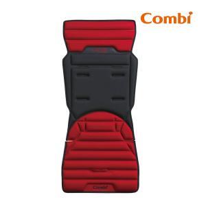 コンビ エフツー シートライナー カーマインレッド RD  B型ベビーカー ストローラー combi F2 着せ替えシート 汗取りシート マット クッション インナー|716baby