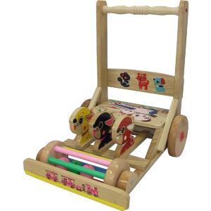 【日本製】 押車 05 ハンドカー 前川木工 手押し車 安心 国産 天然木 木製 歩行器 ウォーカー 乗用玩具 手押車 おもちゃ toys 出産祝い 誕生日 子供 クリスマス|716baby