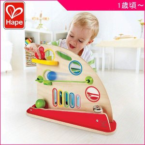 知育玩具 かくれんボール ハペ Hape はぺ おもちゃ 木製玩具 ぼーる ベル コロコロ ベビー キッズ 男の子 女の子 誕生日 お祝い ギフト プレゼント|716baby