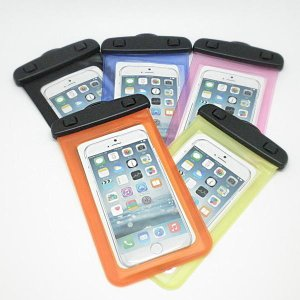 スマホ用防水ケース iphone6plusも入る ほぼ全機種...