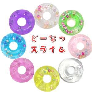 韓国 スライム ドーナツ ぷるぷる slime