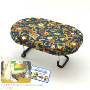 和雑貨 あづま姿 らくらく椅子 大 正座椅子 折り畳み式 収納袋付 日本製 大人 女性 男性 宅配便のみ 10000277|753ya