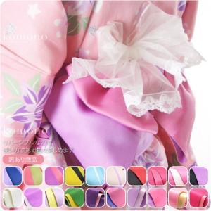 10配色のカラー展開があるので、色々な浴衣に合わせてコーディネイトできますね。 シンプルな無地の浴衣...