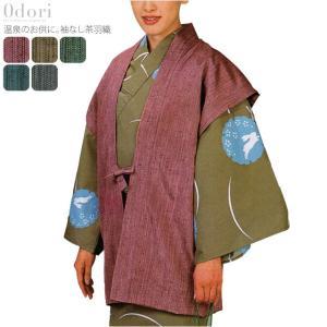 踊り衣装 日本の踊り 茶羽織 袖なし 温泉旅館 浴衣用羽織 仕立て上がり 大人 女性 男性 宅配便のみ キャンセル不可 取寄品A 10016305 753ya