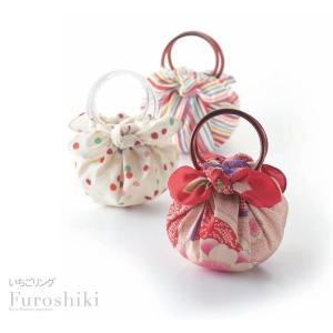 風呂敷 むす美 いちごリング 持ち手 取っ手 巾着バッグ用 日本製 大人 レディース 女性 メール便OK キャンセル不可 取寄品A 20000251|753ya