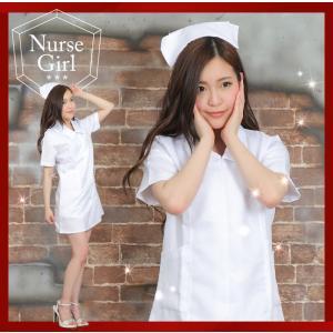 白衣の天使 看護師 ナース コスプレ衣装  ホワイト セクシ...