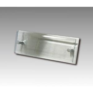 ガラス表札長方形 オーダー製作|7colors-glassart