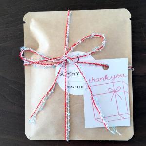 プチギフトに!ありがとうを伝えるスペシャルティコーヒーのドリップバッグ2個セット オリジナルブレンド「SUNDAYブレンド」