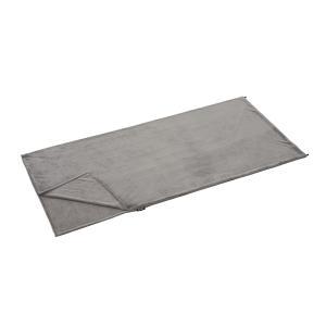 寝袋の中をふっくらと暖かく優しい寝心地に。夏場はこれ1つでもOK!