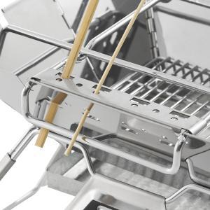 LOGOS/ロゴス LOGOS the ピラミッドTAKIBI M ゴトク付きで料理も楽しめる本格焚火台 タキビ 組み立て10秒でコンパクト収納 串焼きプレート付き(送料無料) 7dials 03