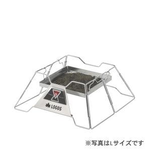 LOGOS/ロゴス LOGOS the ピラミッドTAKIBI M ゴトク付きで料理も楽しめる本格焚火台 タキビ 組み立て10秒でコンパクト収納 串焼きプレート付き(送料無料) 7dials 06