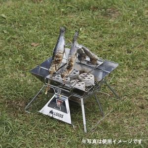 LOGOS/ロゴス LOGOS the ピラミッドTAKIBI M ゴトク付きで料理も楽しめる本格焚火台 タキビ 組み立て10秒でコンパクト収納 串焼きプレート付き(送料無料) 7dials 08