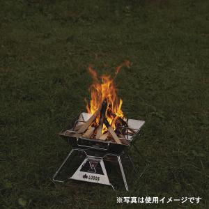 LOGOS/ロゴス LOGOS the ピラミッドTAKIBI M ゴトク付きで料理も楽しめる本格焚火台 タキビ 組み立て10秒でコンパクト収納 串焼きプレート付き(送料無料) 7dials 09