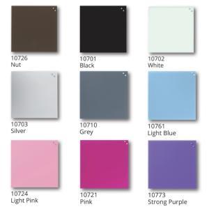 ナガ マグネットガラスボード45×45cm NAGA magnetic glass board ガラス素材のボードでマグネット留めも可能!マーカーも付属でメッセージボードにも!|7dials|08