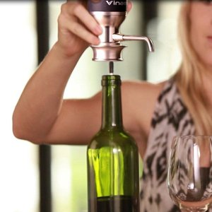 あすつく Vinaera/ビナエラ 電動ワインディスペンサー エアレーションしながらボタン一つで電動でワインを注げるディスペンサー|7dials|03