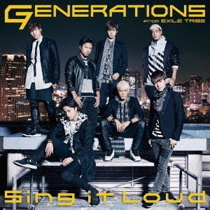 GENERATIONS/Sing it Loud(CD+DVD)の商品画像|ナビ
