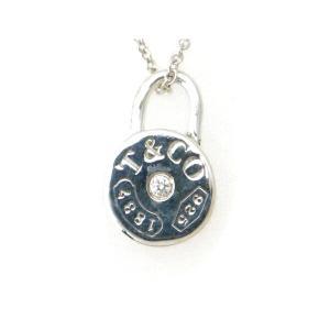 ティファニー 1837 ラウンドロック ダイヤモンドネックレス SV925(シルバー) 質屋出品|7saito