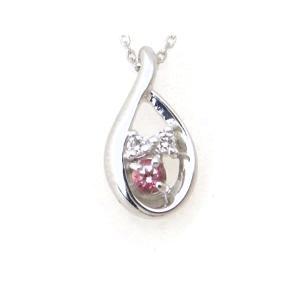 ヨンドシー 色石ダイヤモンドネックレス K18WG(18金 ホワイトゴールド) 質屋出品|7saito