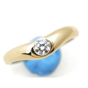 ティファニー カーブバンドリング ダイヤモンド 14号 K18YG(18金 イエローゴールド) 質屋出品|7saito