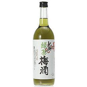 梅酒 和歌山県 中野BC 12度 紀州 緑茶梅酒 720ml