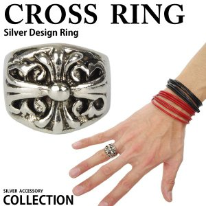 リング メンズリング 指輪 メンズ指輪 メンズ リング クロ...