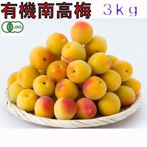 有機JAS認定の和歌山産 梅干し用 完熟 南高梅です。  配送は6月上旬〜下旬頃の予定です。 ・収穫...