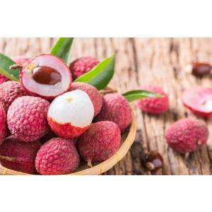 農薬未使用 宮崎産 生 ライチ 約1kg 40〜50個 サイズ混合 ご家庭用 バラ詰め 産地直送 訳あり 無農薬