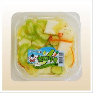 [白菜の浅漬け:セロリ入りの爽やかモダン]スーパー白菜セロリくん 140g|812hosoduke|02