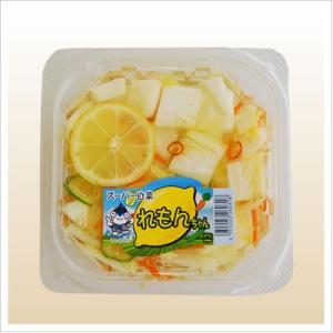 [白菜の浅漬け:レモンですっきり味に仕上げた夏浅漬け]スーパー白菜れもんちゃん 140g 812hosoduke 02