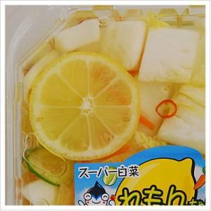 [白菜の浅漬け:レモンですっきり味に仕上げた夏浅漬け]スーパー白菜れもんちゃん 140g 812hosoduke 04