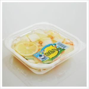 [白菜の浅漬け:レモンですっきり味に仕上げた夏浅漬け]スーパー白菜れもんちゃん 140g 812hosoduke 05