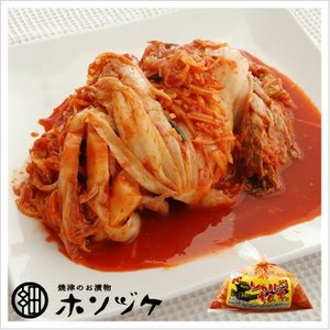 [白菜のキムチ:たっぷり大袋入り、辛さ3倍]激辛ソウル(袋) 1kg|812hosoduke