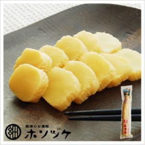 [たくあん:梅酢味]島津梅 360g(一本)|812hosoduke
