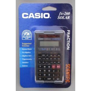 [訳あり] CASIO fx-260 SOLAR 関数電卓(ブラック)|82netshouten