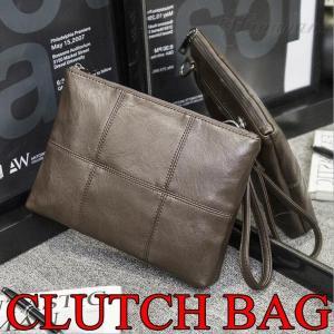 クラッチバッグ メンズバッグ シンプル 持ち手付き PU革 セカンドバッグ レザーバッグ コンパクト パーティー 結婚式 彼氏 父の日 軽量 |8787-store