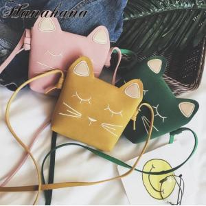 キッズバッグ 猫モチーフ 子供バッグ 通園バッグ ショルダーバッグミニショルダー 斜め掛け 女の子 可愛い キャラクター |8787-store