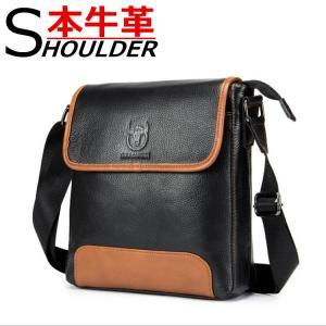 ショルダーバッグ メンズバッグ メンズショルダー 本革バッグ 柔らかい素材 2色 斜めがけ レザーバッグ 軽量|8787-store