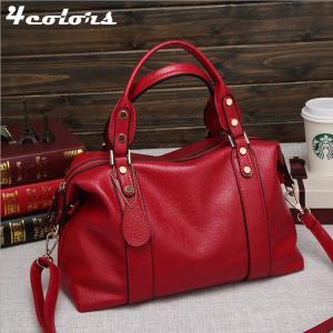 ハンドバッグ ショルダーバッグ バッグ 肩掛け かばん 大容量 おしゃれ ボストンバッグ 柔らかい レディース 女性 通勤 出張 プレゼント|8787-store
