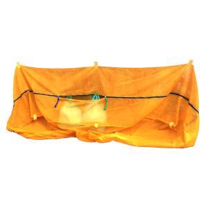 ゴミ集積ネット「バイバイからす」 中(45Lゴミ袋60袋用)|87da