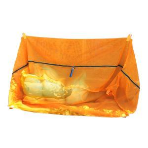 ゴミ集積ネット「バイバイからす」 小(45Lゴミ袋40袋用)|87da
