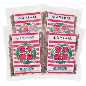 いばらき食品 生干納豆 青のり入 180g×4個パック(計720g)|87da